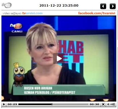 tv8 Muhabbet Kralı Programında biz 22 Aralık 2012 Perşembe